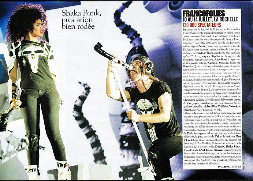 Shaka Ponk Rock & Folk
