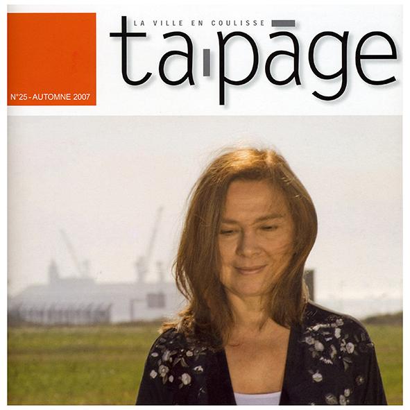 "Tapage  ""la ville en coulisse"" N°25"