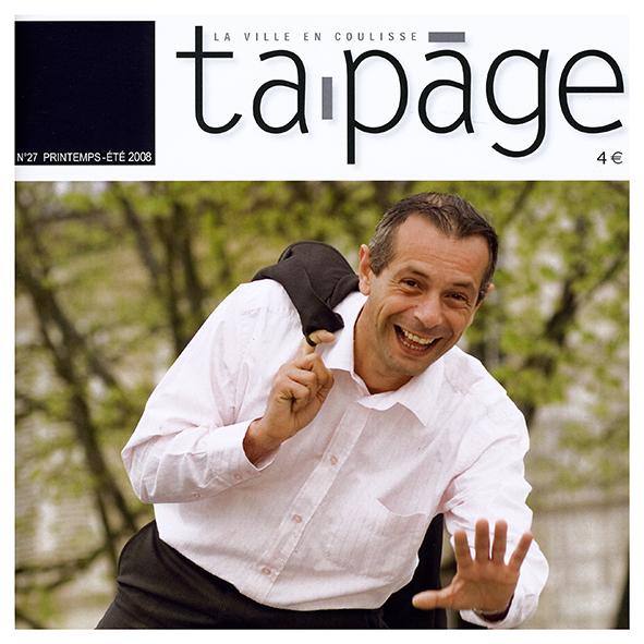 "Tapage  ""la ville en coulisse"" N°27"