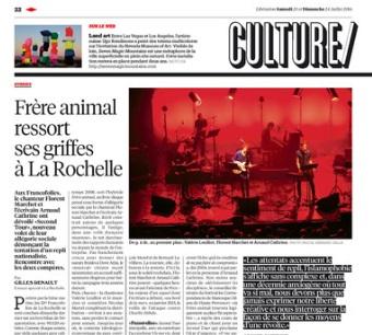 FRERE ANIMAL Libération