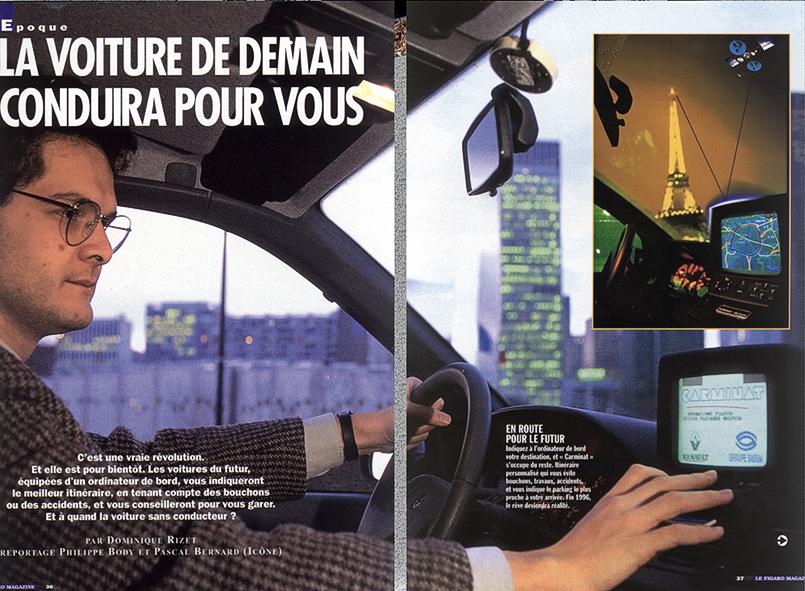 "Reportage magazine sur "" La route intelligente"""