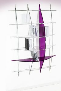 AG product : travail sur la transparence des produits : verre et plexi