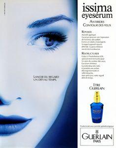 """Tirage suivi d'un virage """"Bleu - Guerlain"""" pour l'agence J Walter Thompson"""
